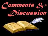 guest book, email, discussion groups, privacy statement, mailing lists, historical observations